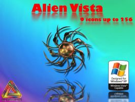 Alien Vista Icons by klen70
