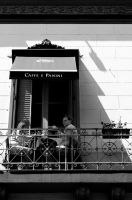 Caffe and Panini by nathirodovalho