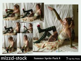 Summer Sprite Pack 8 by mizzd-stock