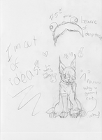 Sketches for Snowflame132's contest #4#5 by Dominoluv