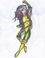 Rogue of the Xmen 90's Style by cablex452 by cablex452