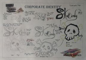 Skull candy: corporate identity by TheSilentArtist2225