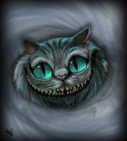 Cheshire Cat by Spiritwollf