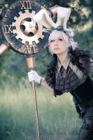Mistress of Time by MaslowskiPhotograph