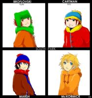South Park Anime-ish. by x--blackrose--x