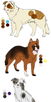 OPEN Realistic Dog Adopts by StarphishyAdopts
