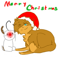 Merry Christmas! by AskPewDie-The-Cat