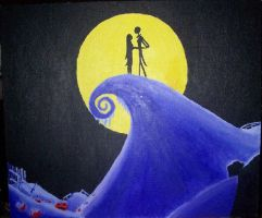 Jack and Sally by bowieandelfmanfan