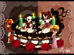 4th Anniversary Celebration~! by Aloubell