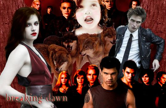 Breaking Dawn - Wallpaper by PCullen