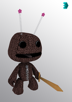 Sackboy Textured by tomtom549