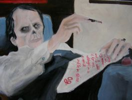 Notes Bloody Notes by ladypellew