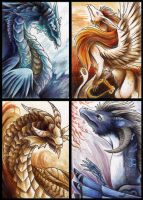 ACEO Batch 2 by Lyswen