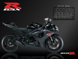 Gixxer.com calendar 6 of 12 by TreborDesigns