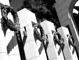 WWII Memorial Wreaths by icreatedesigns