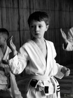 Young Karateka by Etelie