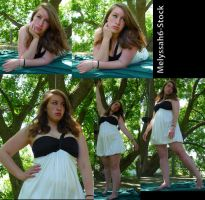 Black and White Dress Stock VII by Melyssah6-Stock