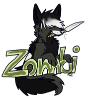 Zombi badge by Aquillic-Tiger