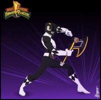 The Black Ranger by Kristele