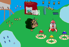pikmin sprite scene 4 for MFC by Ryanfrogger