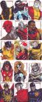 marvel 70th aniv cards by denart