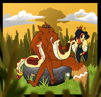 In the Clearing by TheSnake-Queen