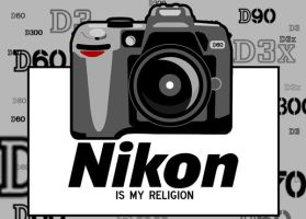 Nikon Is My Religion by clouseth