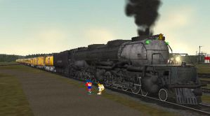 Union Pacific 4014 by YRT9401