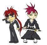 Fanart: Reno and Renji chibi by K-byz
