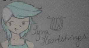 Humanized Lyra Heartstrings by pochychan
