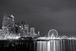 waterfront_bw by NWunseen
