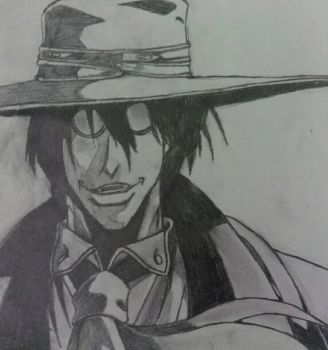 Alucard - Helsing Ultimate by radioactiveapple17