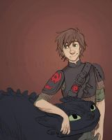 Happy Hiccup by WillowLightfoot