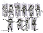 bounty costume design thumbnails by BiggDave
