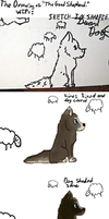 The Drawing of 'The Faithful Shepherd.' by Who-Butt