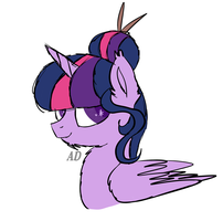 Sketch N4 Twilight Sparkle by AD-Laimi