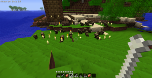 My wolves in minecraft by Luigi-the-Chef
