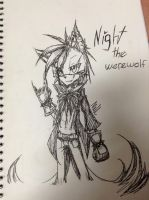 night the werewolf new look by BooPoe