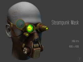 Steampunk Mask by soongpa