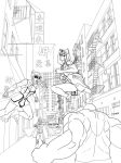 Chinatown Trouble by kyovgr