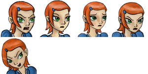 More Gwen Expressions by Binkatong