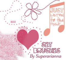 Set brushes two. by superarianna