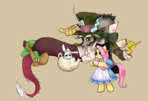 MLP - Fluttershy in discorland by 1-084