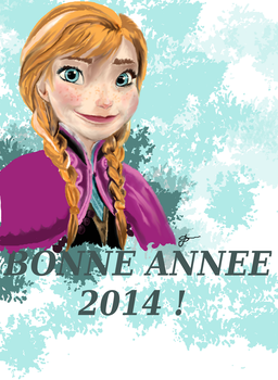 Happy new year 2014 by AliceMuner