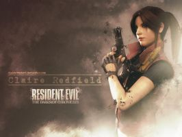 Claire Redfield wallpaper by Vicky-Redfield