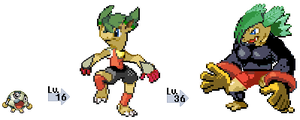 Fakemon - Soccer Type by dl22003