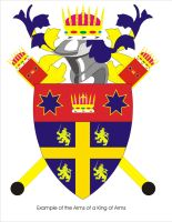 Example arms for King of Arms by Ienkoron