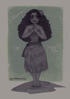 Moana: Follow your heart by ZARINAABZALILOVA