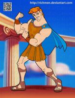 Hercules Disney by Richmen
