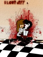 ...:Jeff the killer:... by domocienta